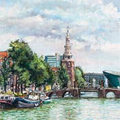Travel Journal - Painting in Dublin and Amsterdam
